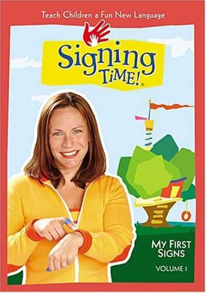 Bestselling Movies (2006) - Signing Time - My First Signs (ASL) Video for Children (Vol. 1) by Jon Pierre F