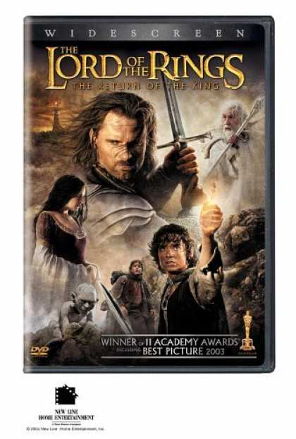 Bestselling Movies (2006) - The Lord of the Rings - The Return of the King (Widescreen Edition)