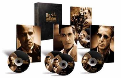 Bestselling Movies (2006) - The Godfather DVD Collection