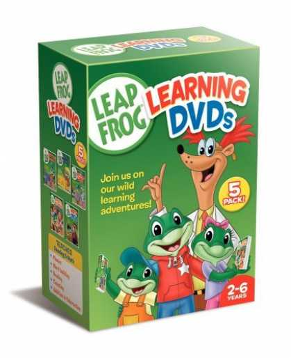 Bestselling Movies (2006) - Leapfrog Learning DVDs 5-Pack (Talking Words Factory / Talking Words Factory II