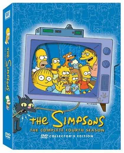 Bestselling Movies (2006) - The Simpsons - The Complete Fourth Season by David Silverman