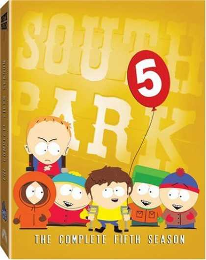 Bestselling Movies (2006) - South Park - The Complete Fifth Season by Matt Stone