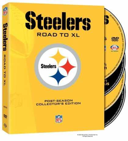 Bestselling Movies (2006) - NFL - Pittsburgh Steelers - Road to Super Bowl XL