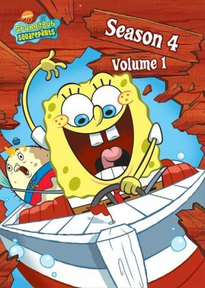 Bestselling Movies (2006) - SpongeBob SquarePants - Season 4, Vol. 1 by Sam Henderson