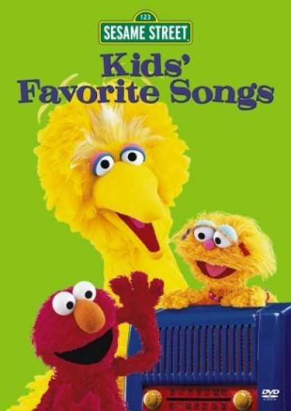 Bestselling Movies (2006) - Sesame Street - Kids' Favorite Songs by Jim Henson