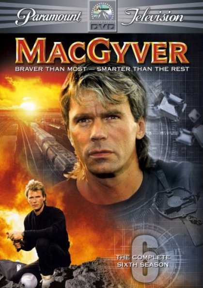 Bestselling Movies (2006) - MacGyver - The Complete Sixth Season by Cliff Bole