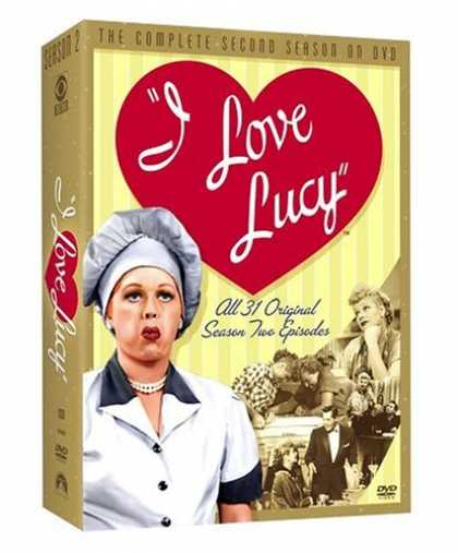 Bestselling Movies (2006) - I Love Lucy - The Complete Second Season by Ralph Levy