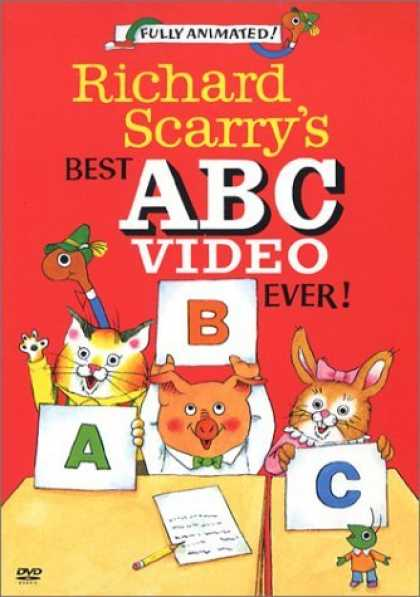 Bestselling Movies (2006) - Richard Scarry's Best ABC Video Ever!
