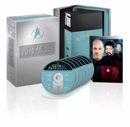 Bestselling Movies (2006) - Star Trek The Next Generation - The Complete Fifth Season by David Carson