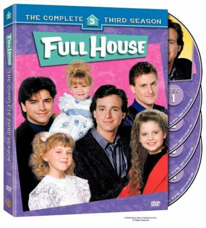 Bestselling Movies (2006) - Full House - The Complete Third Season