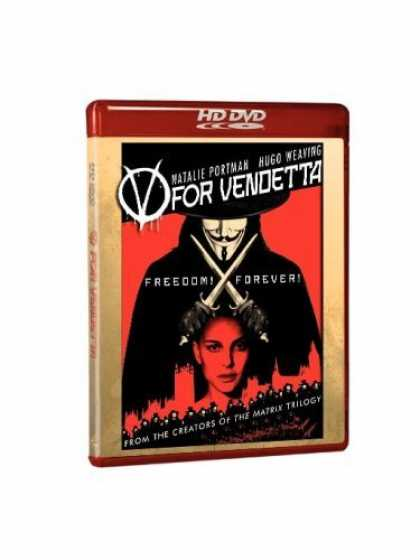 Bestselling Movies (2006) - V for Vendetta [HD DVD]