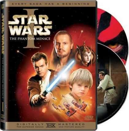 Bestselling Movies (2006) - Star Wars - Episode I, The Phantom Menace (Widescreen Edition)