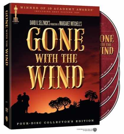 Bestselling Movies (2006) - Gone with the Wind (Four-Disc Collector's Edition) by Victor Fleming