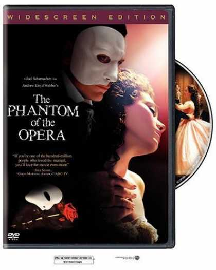 Bestselling Movies (2006) - The Phantom of the Opera (Widescreen Edition) by Joel Schumacher