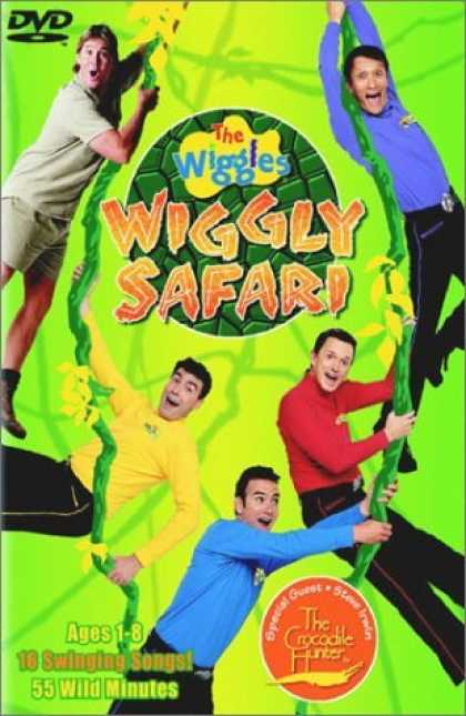 Bestselling Movies (2006) - The Wiggles - Wiggly Safari