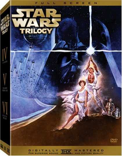 Bestselling Movies (2006) - Star Wars Trilogy (Full Screen Edition Without Bonus Disc)