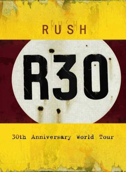 Bestselling Movies (2006) - Rush - R30 - 30th Anniversary Deluxe Edition by Pïerre Lamoureux