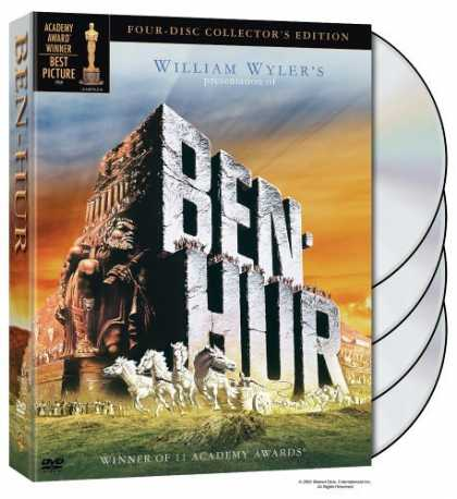 Bestselling Movies (2006) - Ben-Hur (Four-Disc Collector's Edition) by William Wyler