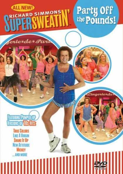 Bestselling Movies (2006) - Richard Simmons - Supersweatin Party off the Pounds