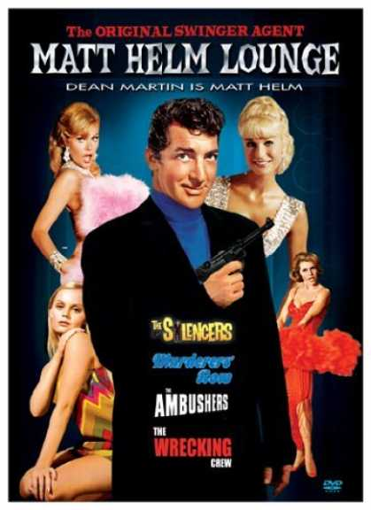 Bestselling Movies (2006) - Matt Helm Lounge (The Silencers/ Murderers Row/The Ambushers/The Wrecking Crew)