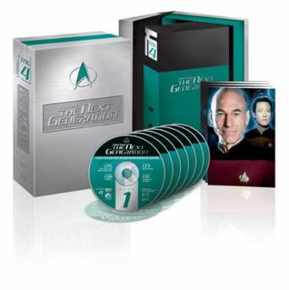 Bestselling Movies (2006) - Star Trek The Next Generation - The Complete Fourth Season by David Carson