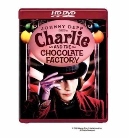 Bestselling Movies (2006) - Charlie & the Chocolate Factory [HD DVD]