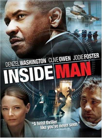 Bestselling Movies (2006) - Inside Man (Widescreen Edition) by Spike Lee