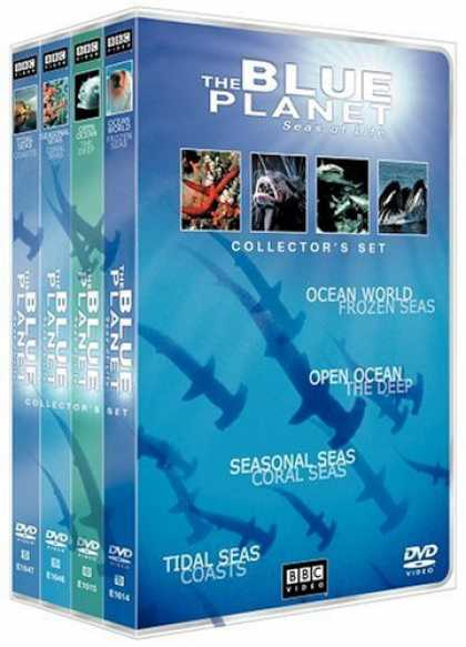 Bestselling Movies (2006) - The Blue Planet - Seas of Life Collector's Set (Parts 1-4) by Alastair Fothergil