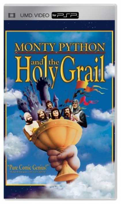 Bestselling Movies (2006) - Monty Python and the Holy Grail (UMD PSP Disc) by Terry Gilliam