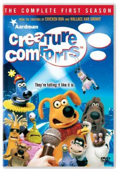 Bestselling Movies (2006) - Creature Comforts - The Complete First Season by Nick Park