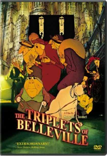 Bestselling Movies (2006) - The Triplets of Belleville by Sylvain Chomet