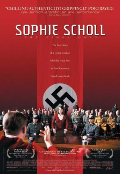 Bestselling Movies (2006) - Sophie Scholl - The Final Days by Marc Rothemund