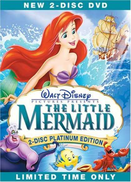Bestselling Movies (2006) - The Little Mermaid (Two-Disc Special Edition) by John Musker
