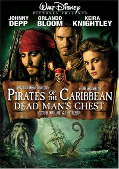 Bestselling Movies (2006) - Pirates Of The Caribbean - Dead Man's Chest (Widescreen Edition) by Gore Verbins