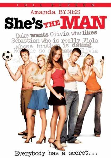 Bestselling Movies (2006) - She's the Man (Full Screen Edition) by Andy Fickman