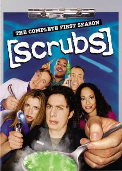 Bestselling Movies (2006) - Scrubs - The Complete First Season by Paul Quinn