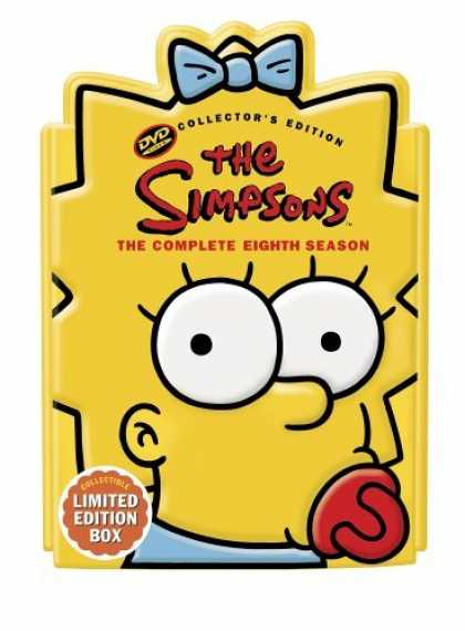 Bestselling Movies (2006) - The Simpsons - The Complete Eighth Season (Collectible Maggie Head Pack) by Davi