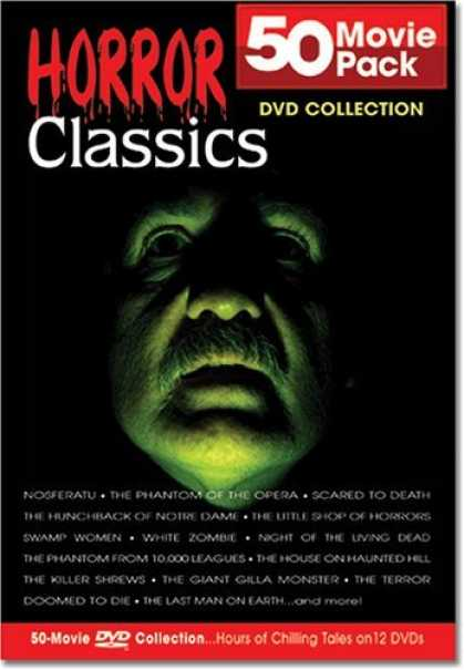 Bestselling Movies (2006) - Horror Classics 50 Movie Pack Collection