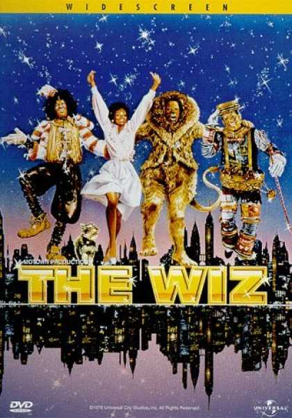 Bestselling Movies (2006) - The Wiz by Sidney Lumet