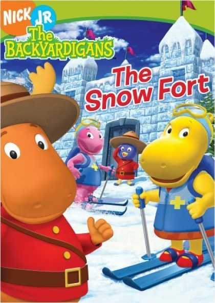 Bestselling Movies (2006) - The Backyardigans - The Snow Fort by Dave Palmer (III)