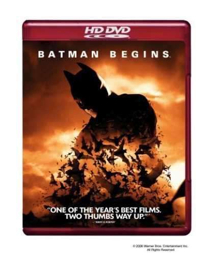 Bestselling Movies (2006) - Batman Begins [HD DVD]
