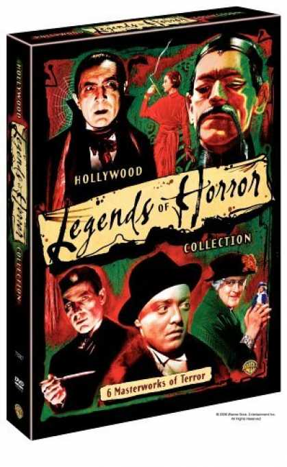 Bestselling Movies (2006) - Hollywood's Legends of Horror Collection (Doctor X / The Return of Doctor X / Ma