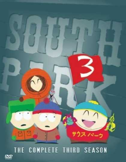 Bestselling Movies (2006) - South Park - The Complete Third Season by Matt Stone