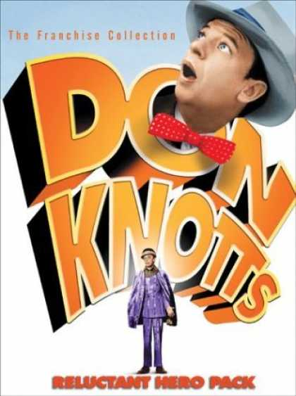Bestselling Movies (2006) - Don Knotts 4 Movie Reluctant Hero Pack (The Ghost And Mr. Chicken / The Reluctan