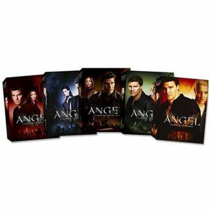 Bestselling Movies (2006) - Angel - Seasons 1-5 by Joss Whedon