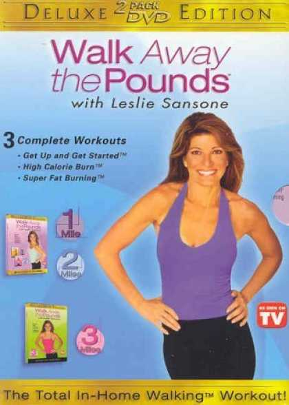 Bestselling Movies (2006) - Walk Away the Pounds 2-Pack: Super Fat Burning + Get Up and Get Started High Cal
