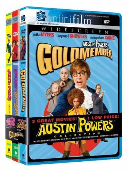 Bestselling Movies (2006) - Austin Powers (3pc) (Ws) by Jay Roach