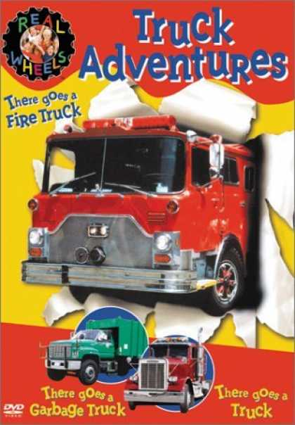 Bestselling Movies (2006) - Real Wheels - Truck Adventures (There Goes a Truck/Fire Truck/Garbage Truck)