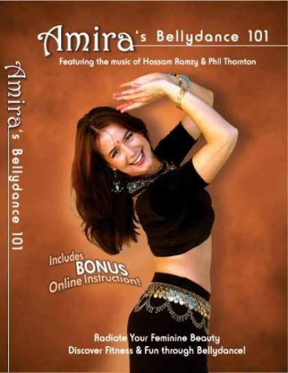 Bestselling Movies (2006) - Amira's Belly Dance 101 DVD, a quality instructional workout video of Oriental B