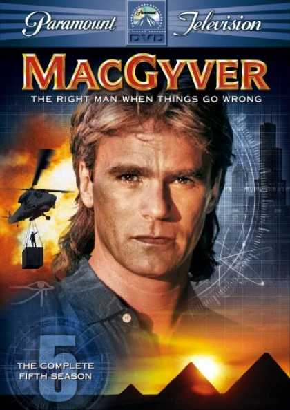 Bestselling Movies (2006) - MacGyver - The Complete Fifth Season by Cliff Bole